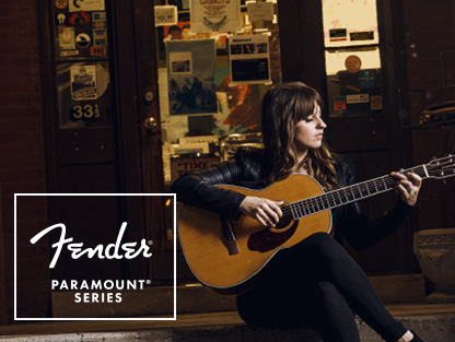 fender paramount acoustic guitars series
