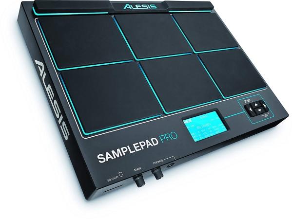 ה-SAMPLEPAD PRO - משטח הטרגה לתופים ודגימות מ-Alesis