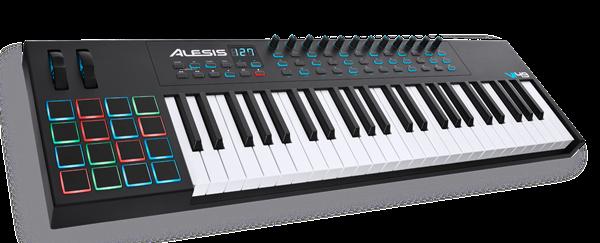 Vi49 -  מקלדת שליטה 49 קלידים עם תכונות מתקדמות למוזיקאי המודרני מ-Alesis
