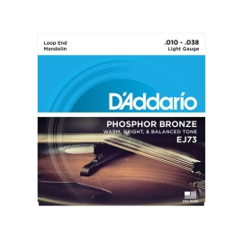 מיתרים למנדולינה D'Addario EJ73 Phophor Bronze Ball End