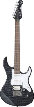 Yamaha Pacifica PAC212V Flame Maple - Black